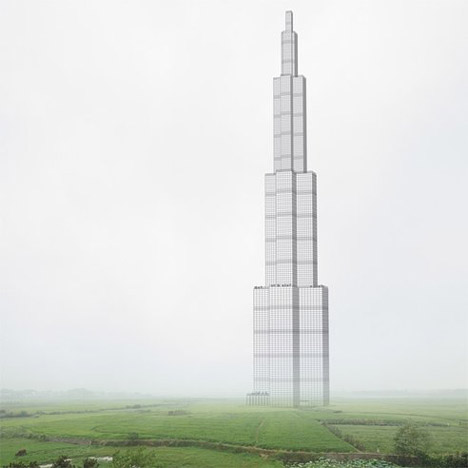 World's tallest skyscraper to be built with ready-made 'Meccano' pieces