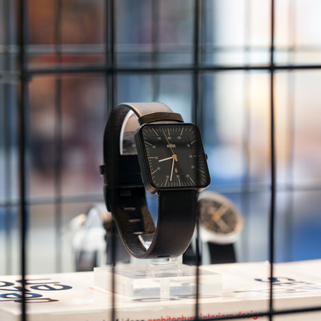 Dezeen Watch Store pop-up shop at Clerkenwell Design Week