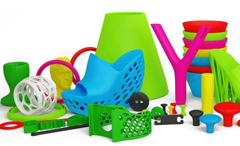 Cube 3D printer creations