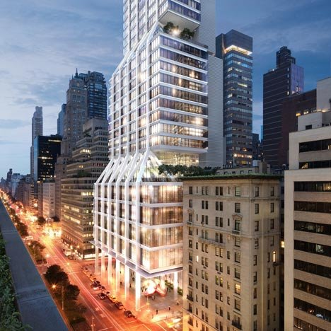 Foster + Partners to build Park Avenue skyscraper for Lehman Brothers