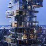 """Work to restart on Herzog & de Meuron's stalled """"Jenga building"""""""