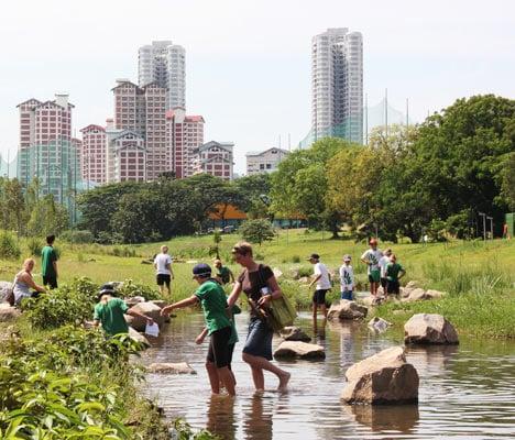 Kallang River Bishan Park by Atelier Dreiseitl