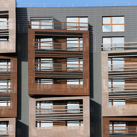 Basket Apartments by OFIS Arhitekti