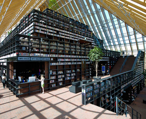 Book Mountain by MVRDV