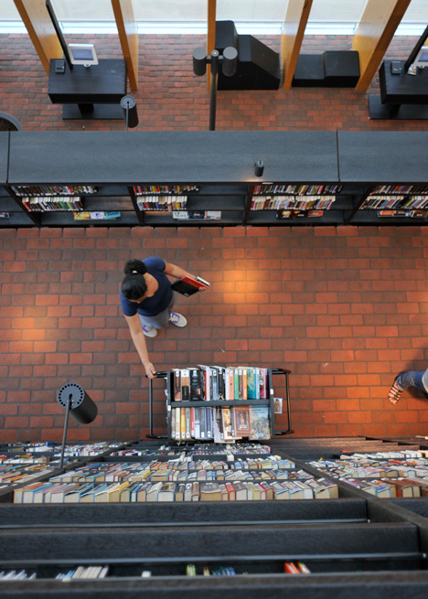 Book Mountain by MVRDV