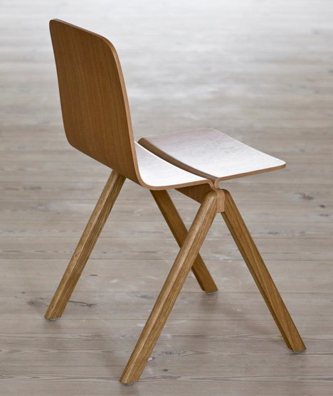 Bouroullec Collection by Ronan and Erwan Bouroullec for Hay & Bouroullec chairs for University of Copenhagen
