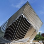 First photographs of Eli and Edythe Broad Art Museum by Zaha Hadid unveiled