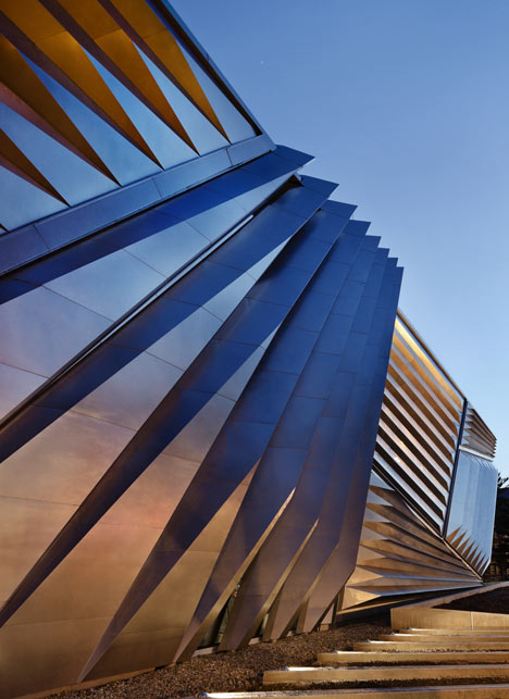 Eli and Edythe Broad Museum by Zaha Hadid