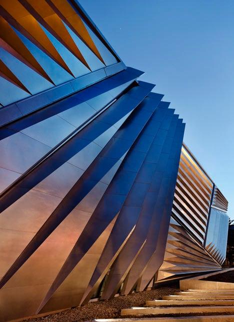 Eli and Edythe Broad Museum by Zaha Hadid