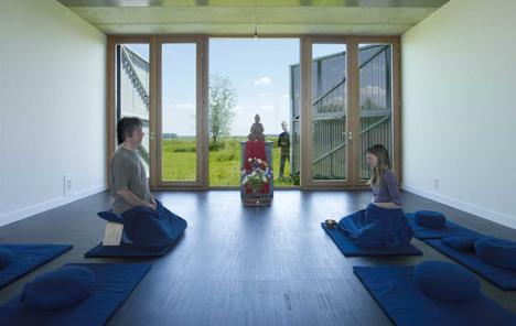 Buddhist Meditation Centre Metta Vihara by Bureau SLA