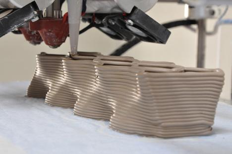 Building Bytes 3D printed bricks by Brian Peters