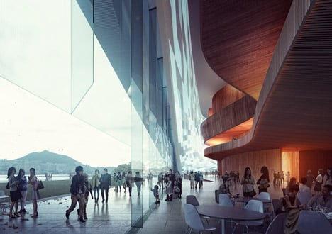 Busan Opera House by Snøhetta