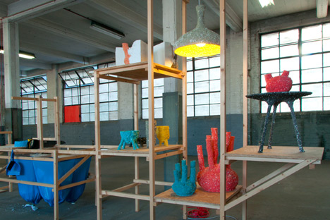C-Fabriek curated by Itay Ohaly and Thomas Vailly
