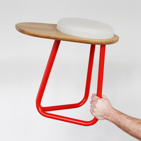 Chair 01 and Stool 01 by Daphna Laurens with Wittmann