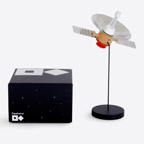 Competition: twenty wooden satellite models by Papafoxtrot to be won