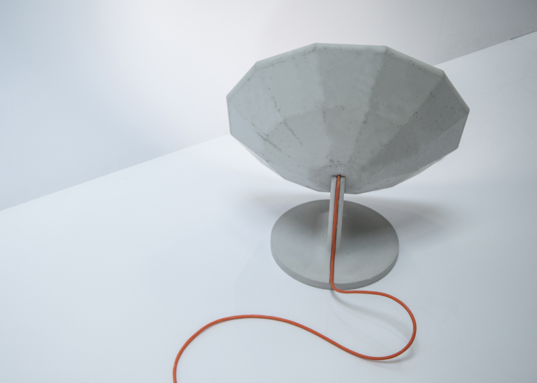 Concrete collection by Matali Crasset for Concrete by LCDA