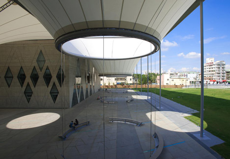Dadong Art Centre by MAYU Architects