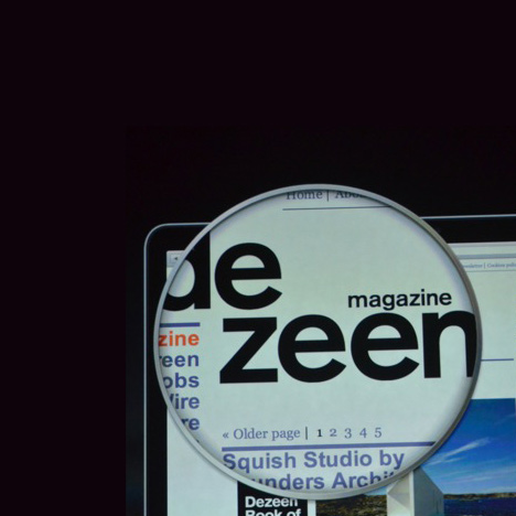 Dezeen featured in Apple's MacBook Pro launch