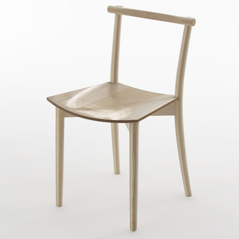 Fishline Chair by Nendo