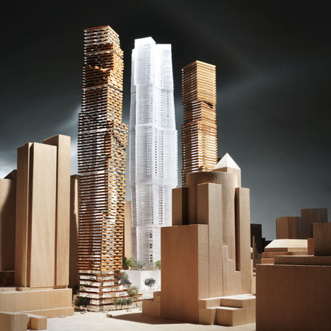 Frank Gehry unveils designs for Toronto