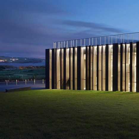 Giant's Causeway Visitors' Centre<br /> by Heneghan Peng Architects