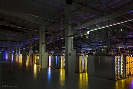 Google's data centres revealed