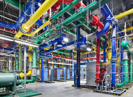 Google's data centres revealed
