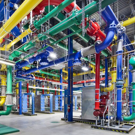 Google offers a glimpse inside its data centres