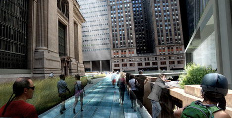 Grand Central scheme by WXY Architecture and Urban Design