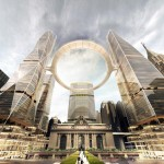 SOM proposes floating observation deck over Grand Central Terminal