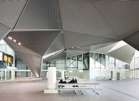 High Speed Train Station in Logroño by Abalos+Sentkiewicz Arquitectos