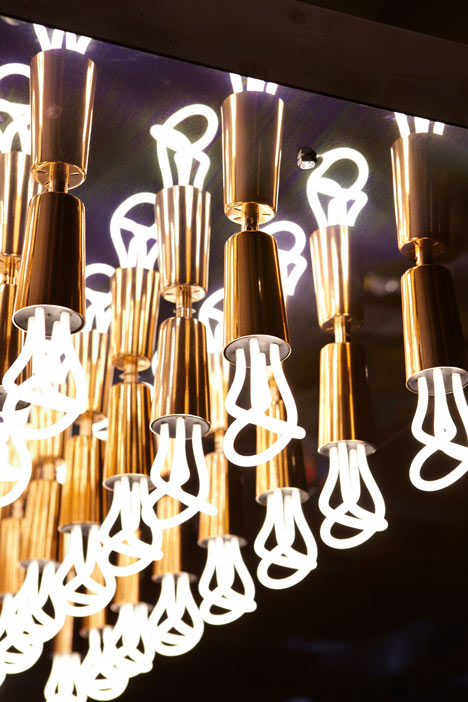 Hollywood Chandelier by Hulger and Haptic Thought for the Stepney Green Design Collection