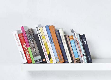 Invisible Bookend by Paul Cocksedge