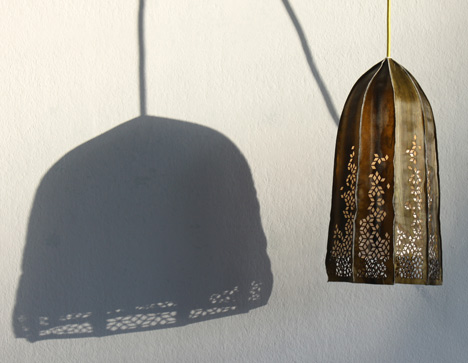 Kelp hats and lampshades by Julia Lohmann