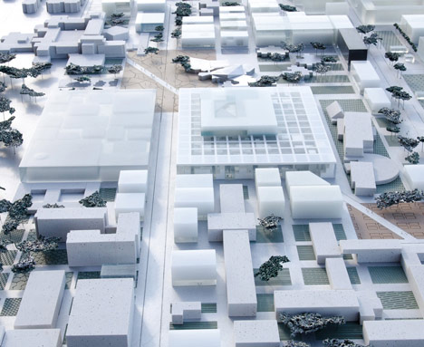 École Centrale Engineering School by OMA