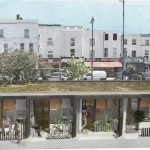 Pop-up housing in garages by Levitt Bernstein