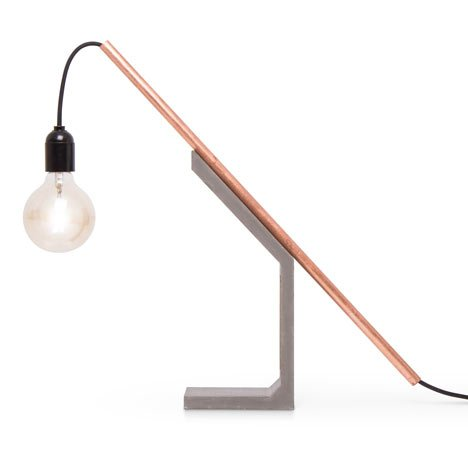 Magno Tube Lamp by Doreen Westphal