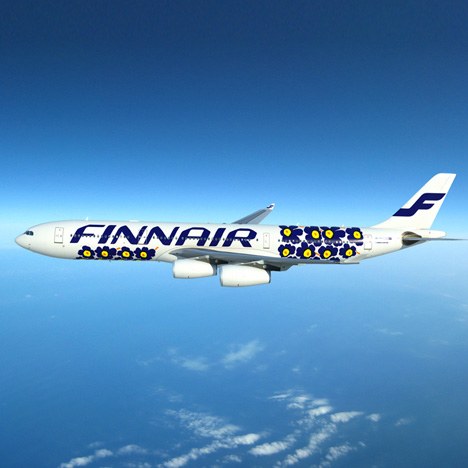 Marimekko designs Finnair tableware and livery