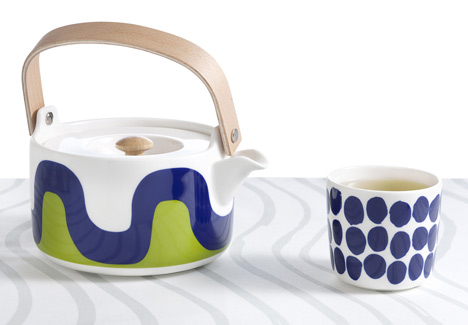 Marimekko designs Finnair tableware and livery