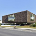Marne-la-Vallée Central University Library by Beckmann-N'Thépé Architectes