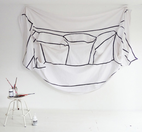 My Couch, My Canvas by Annebet Philips