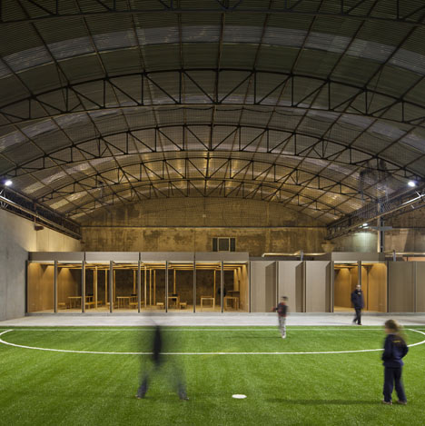 N10 Sports Facility by Comoco Architects
