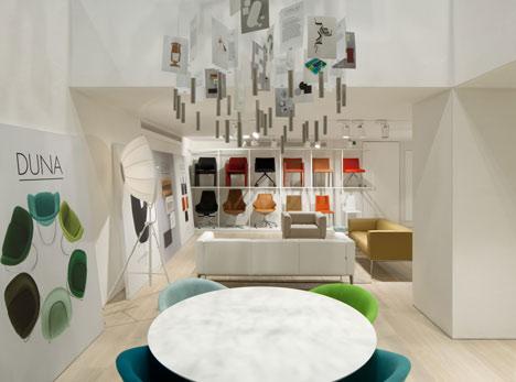 Arper showcases Saya and Juno chairs at new London showroom