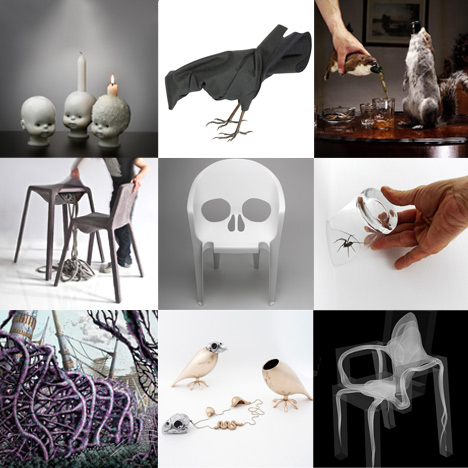 New Pinterest board: scary design