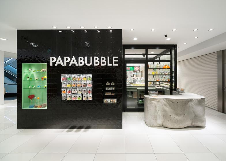 Papabubble Tokyo by Schemata Architecture Office