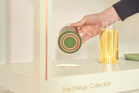 Photovoltaic glassware by Marjan van Aubel wins DOEN Materiaalprijs