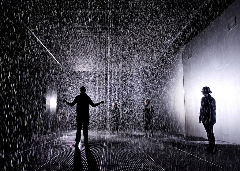 Rain Room Installation By Random International At The Barbican