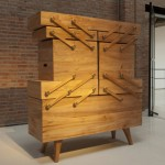 Sewing box cabinet by Kiki van Eijk