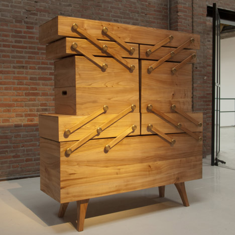Sewing box cabinet <br />by Kiki van Eijk