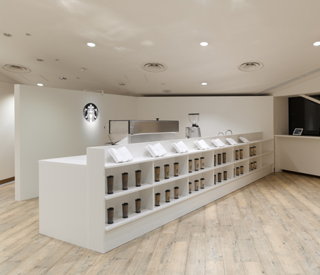 Starbucks Expresso Journey by Nendo